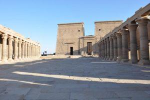 Templo de Philae en Aswan dedicado a Isis