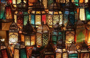 Cairo Bazar farolas