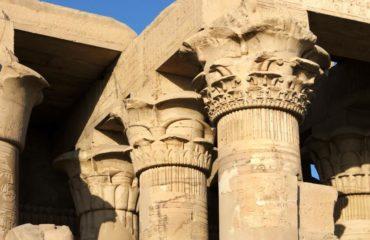 Kom-Ombo Templo columnas