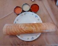 Masalada-Dosa con tres salsas