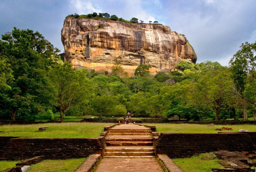 Montaña en Sigiriya