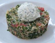 Tabbouleh ensalada típica