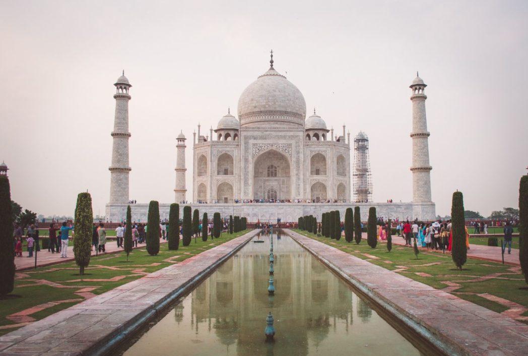 Taj-Mahal en India