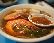 Tom Muy Goong sopa de camarones picante