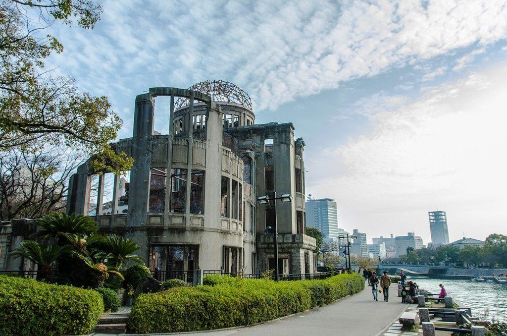 Visitar Hiroshima al viajar a Japón