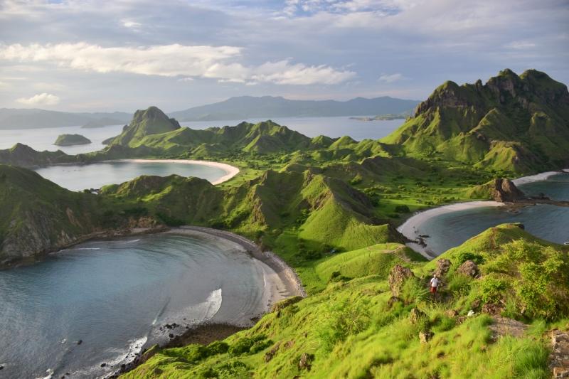 La isla de Komodo