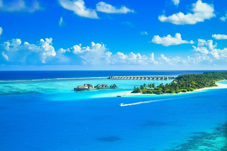 Resort en las Maldivias