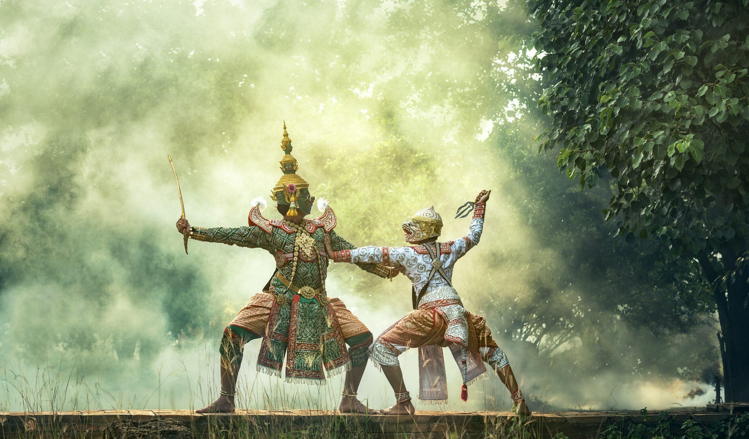 El espectáculo de marionetas de Bangkok