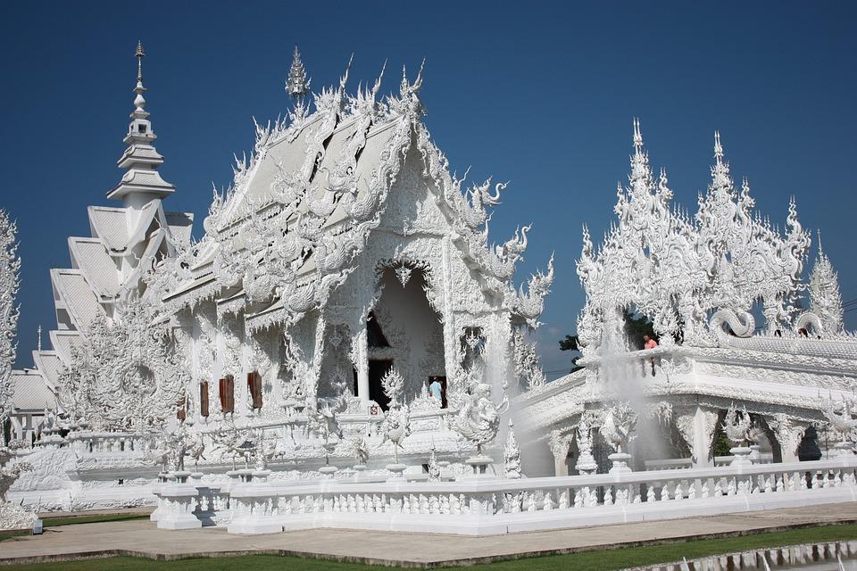 El Templo Blanco, Tailandia