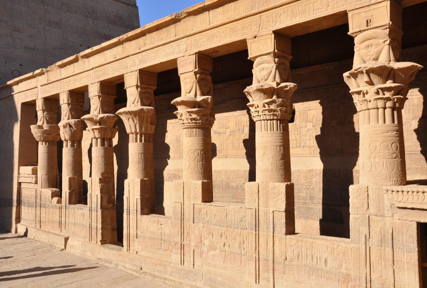 Templo ISIS de Philae en Aswan