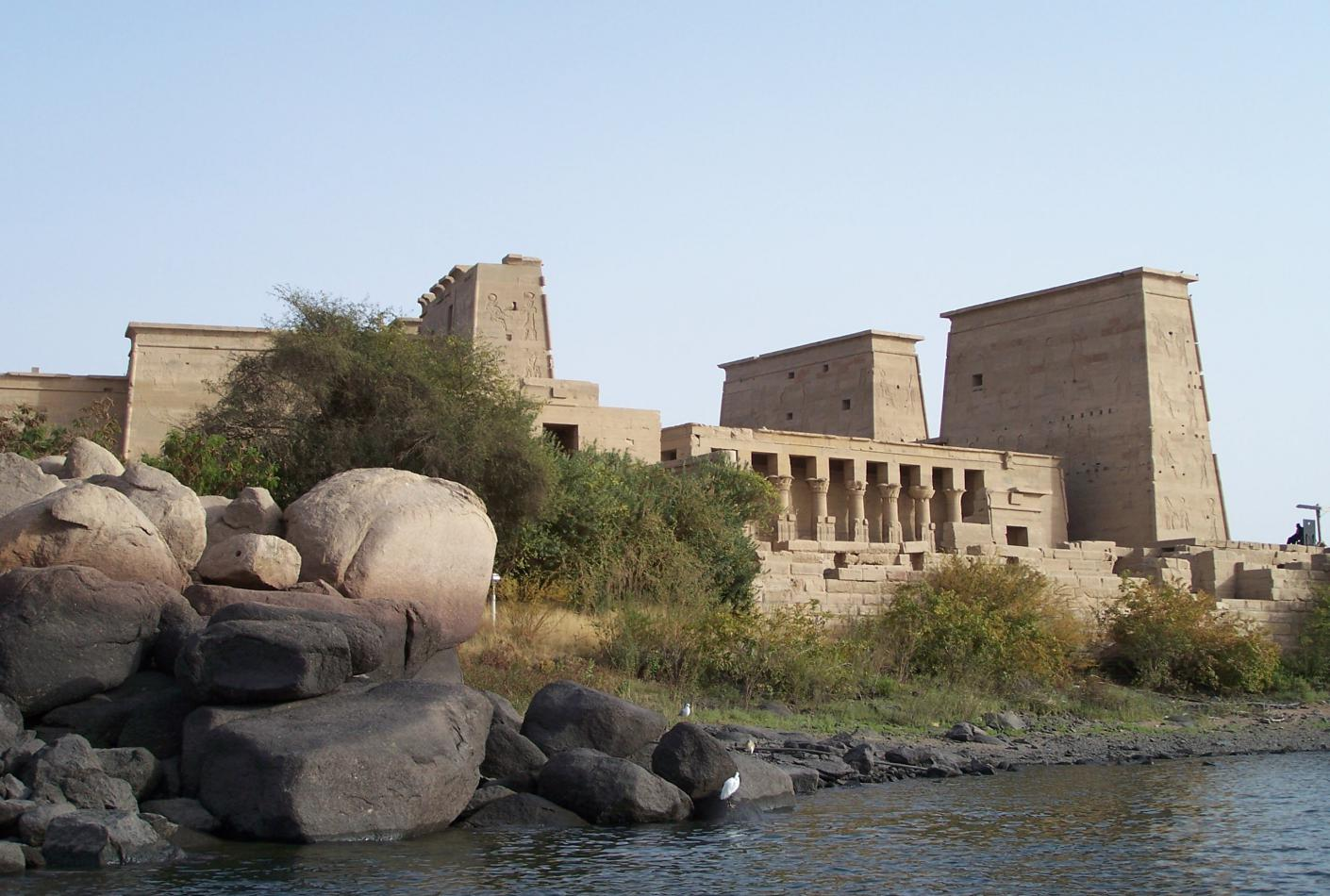 Templo Philae Isis Aswan