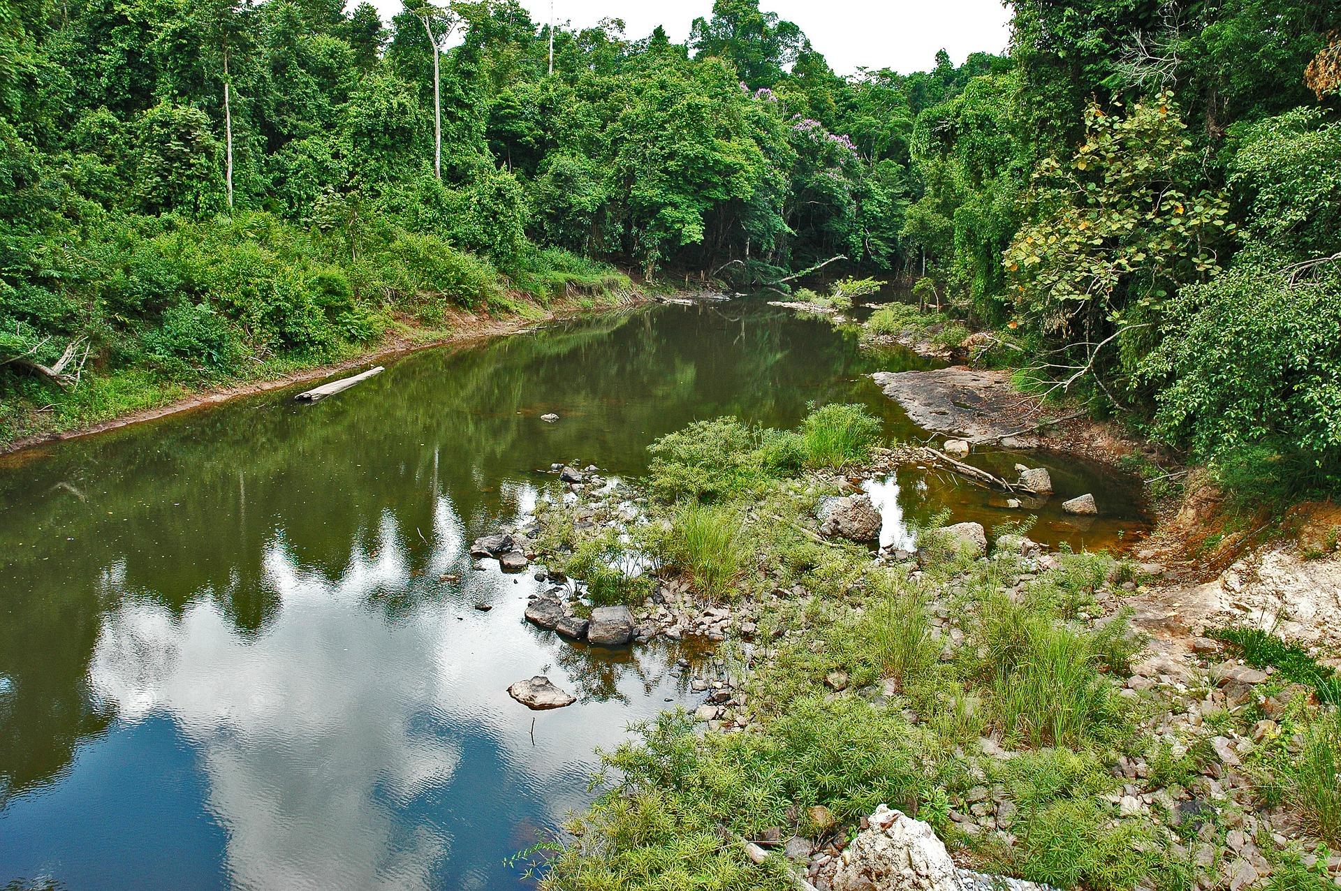 Paisaje del Río Khao Yai