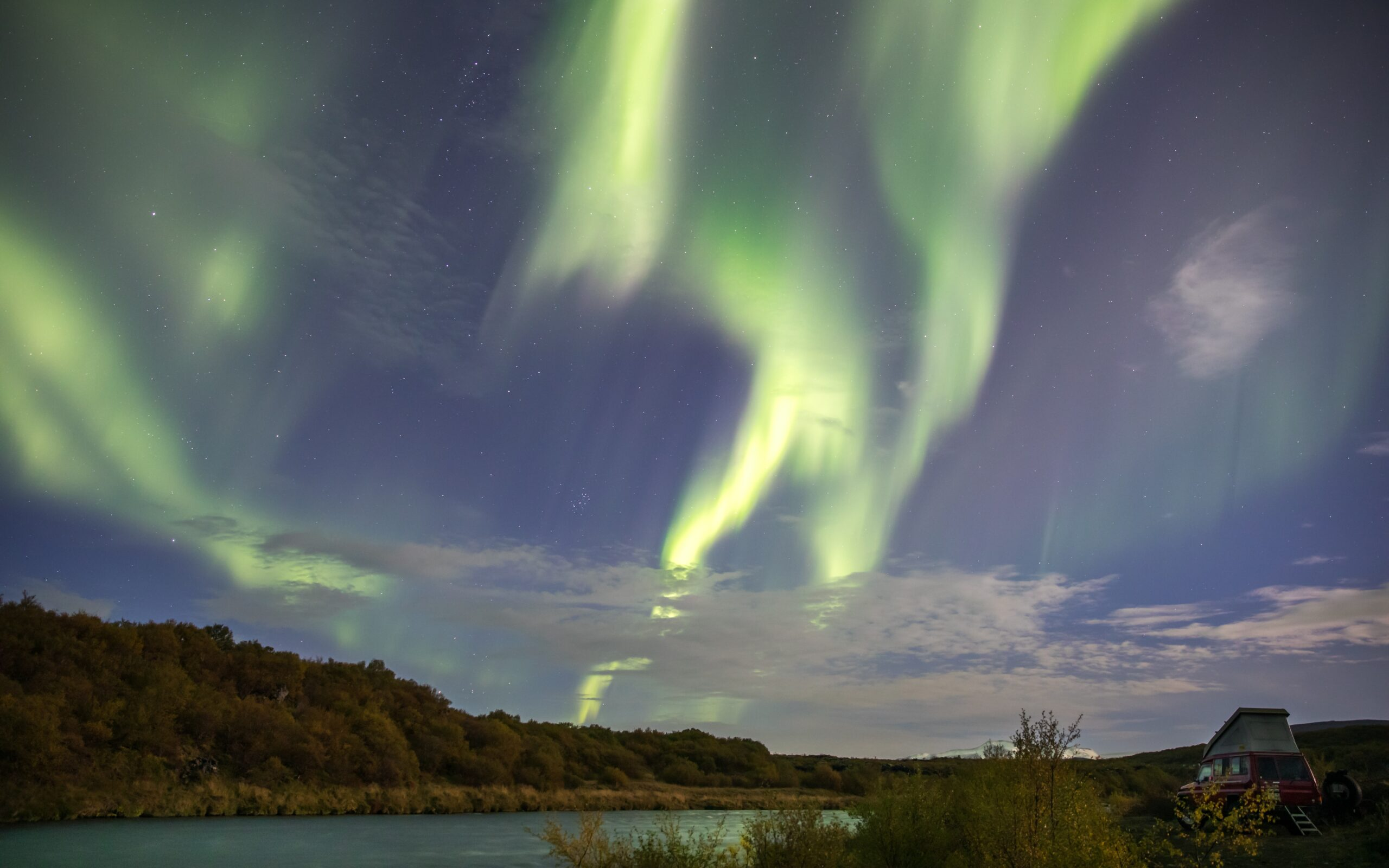 Islandia, aurora boreal