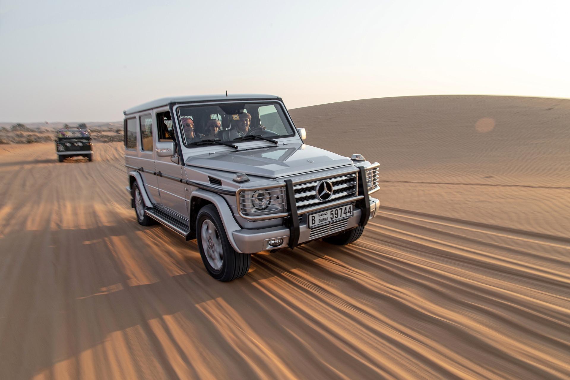 Gran aventura en el desierto