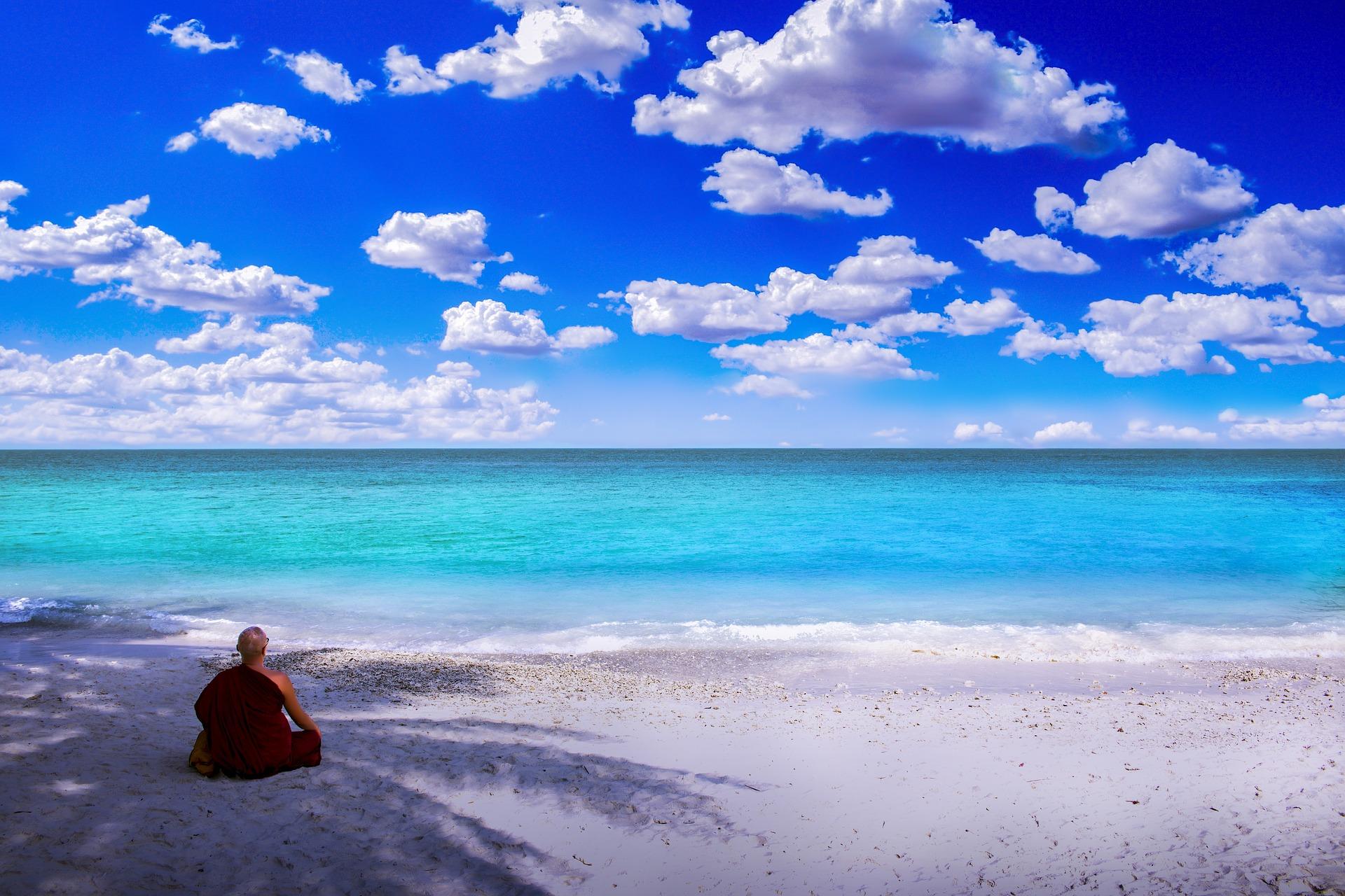 Playa en la isla Tenggol (Terengganu)