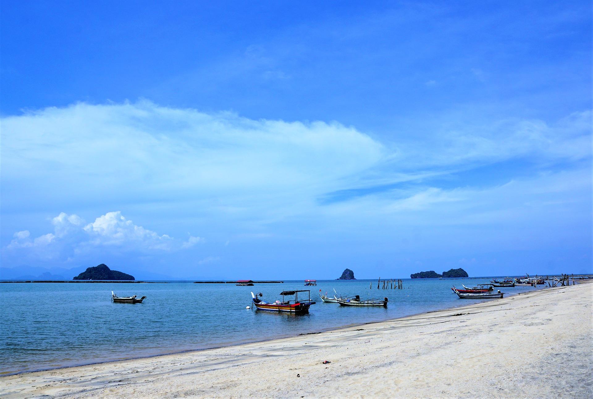 Playa de Kerachut en Penang